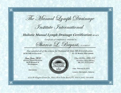 MLD Certificate