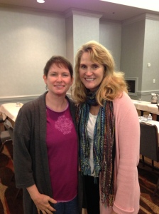 Sharon with Susan Salvo at the 2014 AMTA-AL Spring Convention