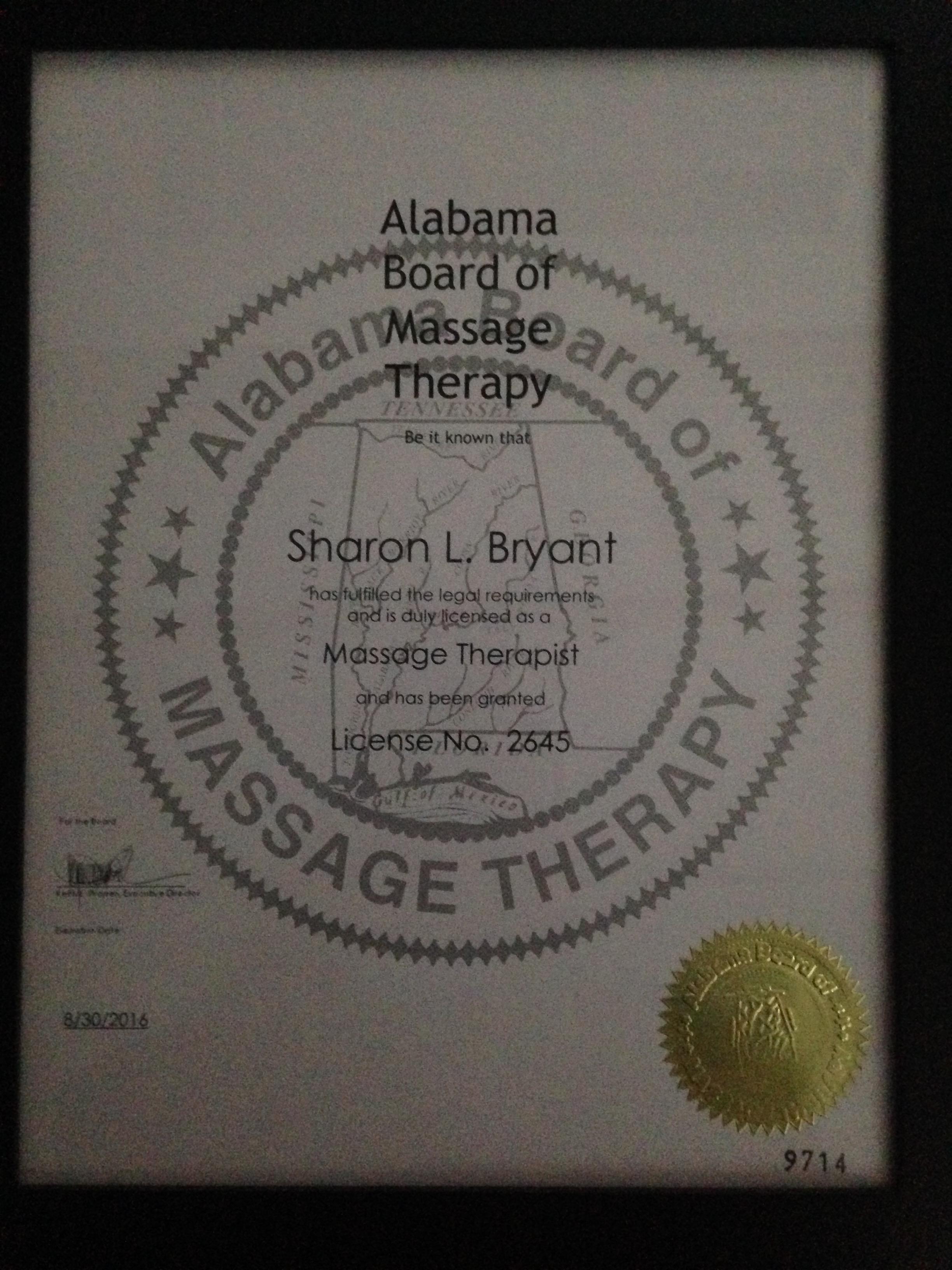 Alabama Harvest Moon Massage Therapy And Reflexology