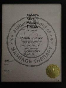 Alabama Massage Therapy License