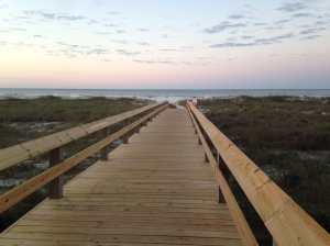Boardwalk to Orange Beach